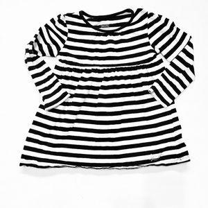 Other - Black & White Striped Shirt Dress